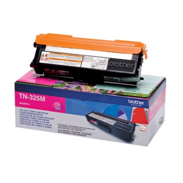 Original Brother TN325M Toner magenta