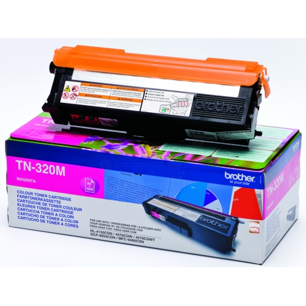 Original Brother TN320M Toner magenta