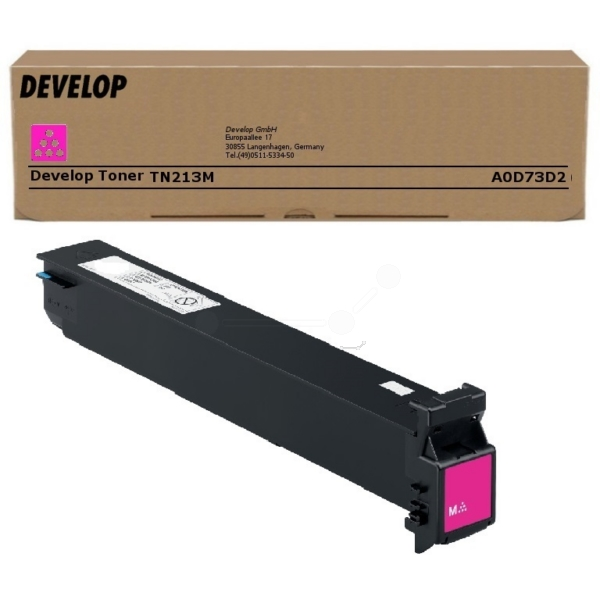 Original Develop A0D73D2 / TN213M Toner magenta