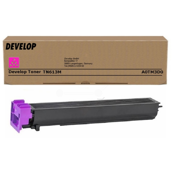 Original Develop A0TM3D0 / TN613M Toner magenta