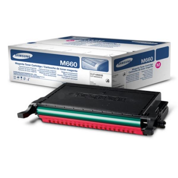 Original Samsung CLPM660AELS Toner magenta