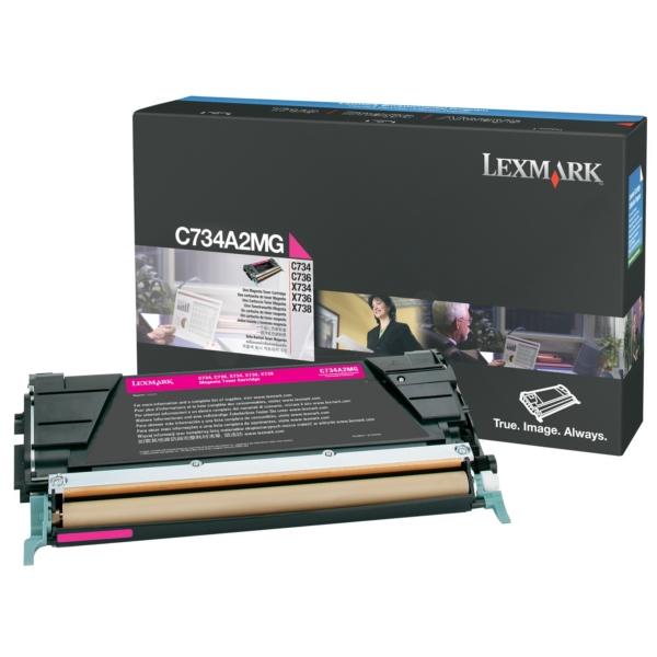 Original Lexmark C734A2MG Toner magenta