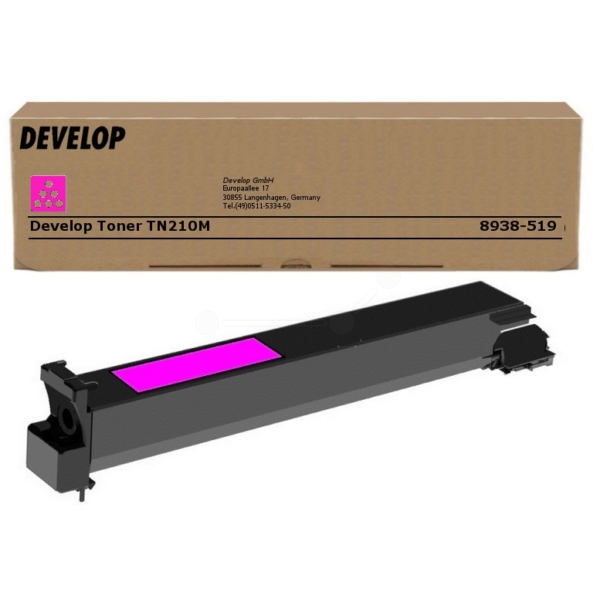 Original Develop 8938519000 / TN210M Toner magenta