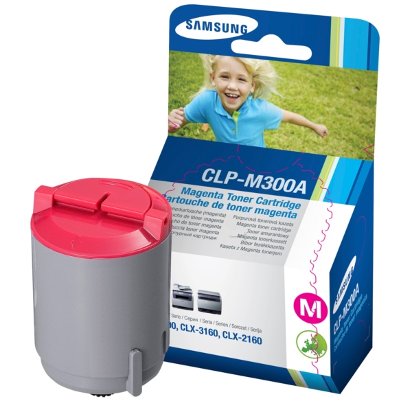 Original Samsung CLPM300AELS Toner magenta