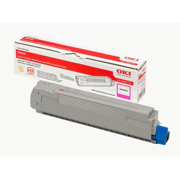 Original OKI 43487710 Toner magenta