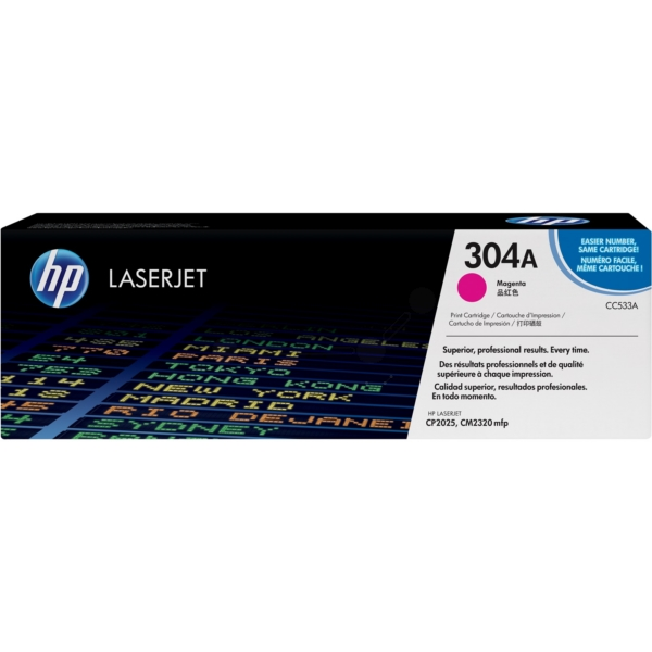 Original HP CC533A / 304A Toner magenta