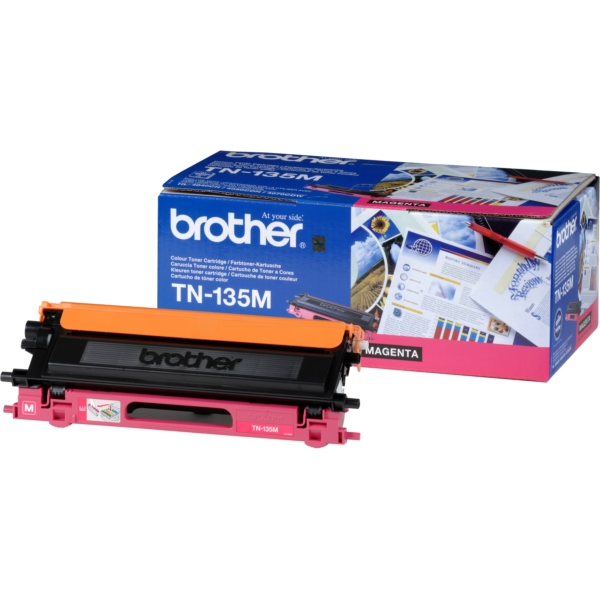 Original Brother TN135M Toner magenta