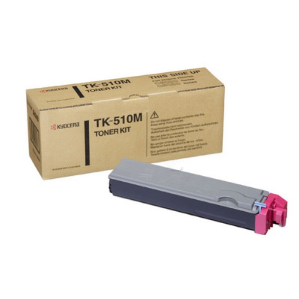 Original Kyocera 1T02F3BEU0 / TK510M Toner magenta
