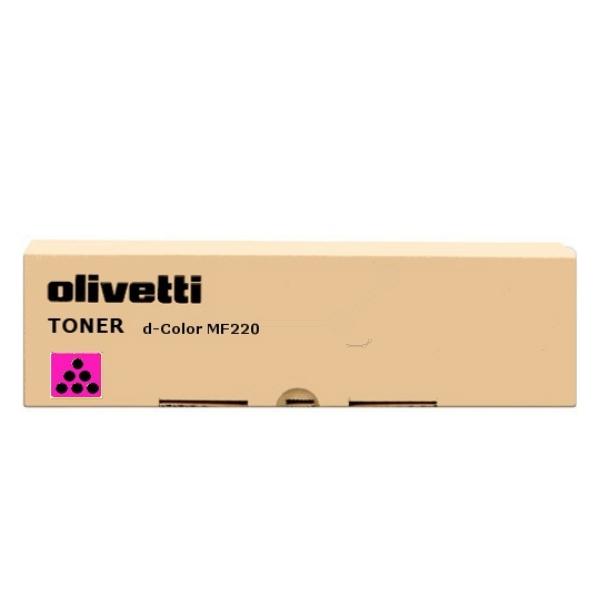 Original Olivetti B0856 Toner magenta