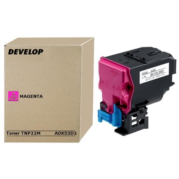 Original Develop A0X53D2 / TNP22M Toner magenta