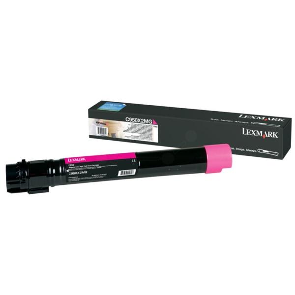 Original Lexmark C950X2MG Toner magenta