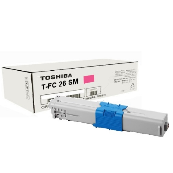 Original Toshiba 6B000000361 / TFC26SM Toner magenta