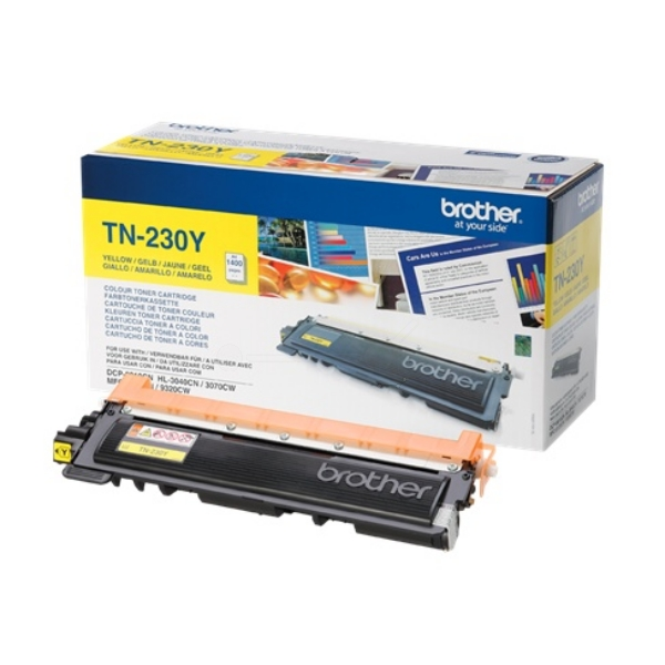 Original Brother TN230Y Toner gelb