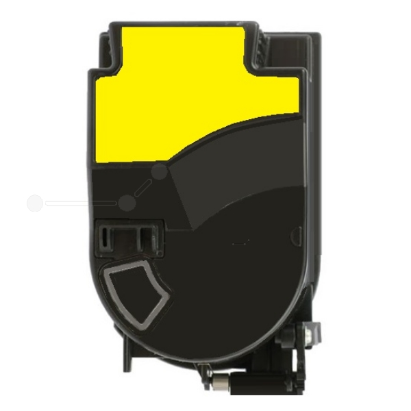Original Konica Minolta 4053503 / TN310Y Toner gelb