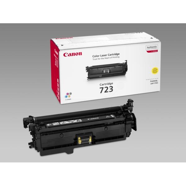 Original Canon 2641B002 / 723Y Toner gelb