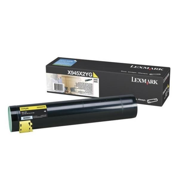 Original Lexmark X945X2YG Toner gelb