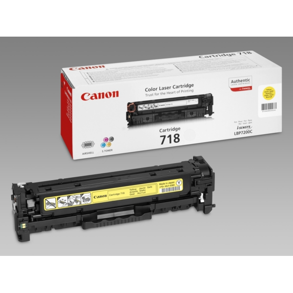 Original Canon 2659B002 / 718Y Toner yellow