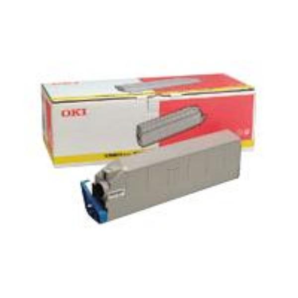 Original OKI 41963605 Toner gelb