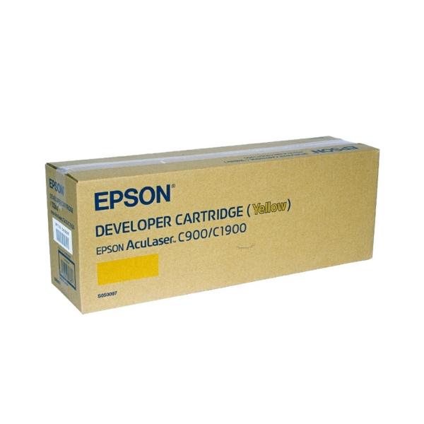 Original Epson C13S050097 / S050097 Toner gelb