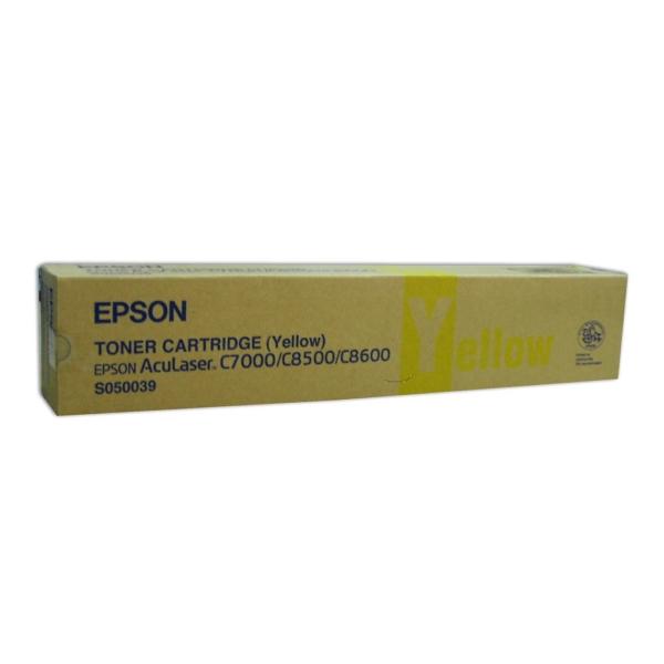 Original Epson C13S050039 / S050039 Toner gelb