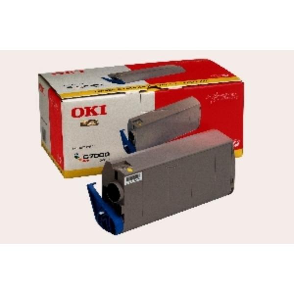 Original OKI 41304209 Toner gelb