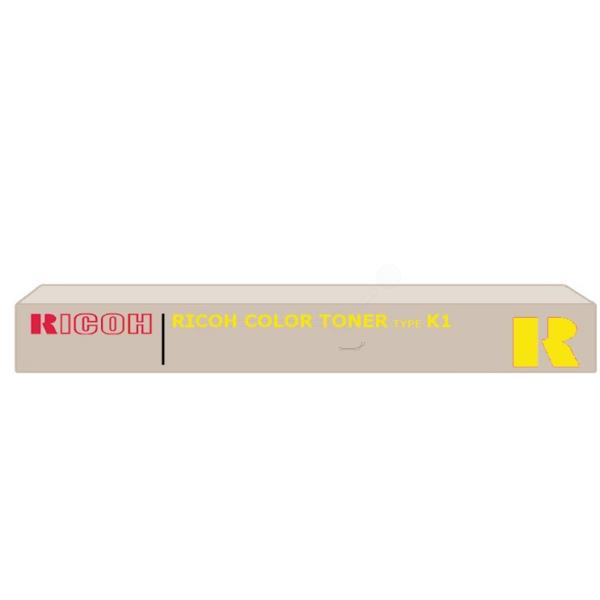 Original Ricoh 887921 / TYPEK1 Toner gelb