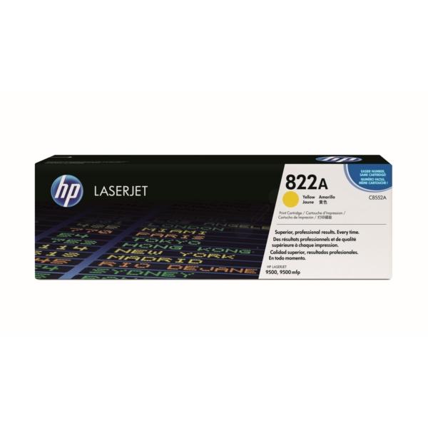 Original HP C8552A / 822A Toner gelb