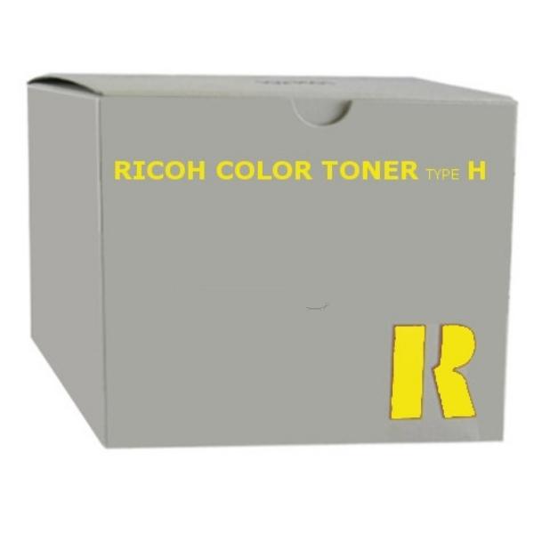 Original Ricoh 887847 / TYPEH Toner gelb