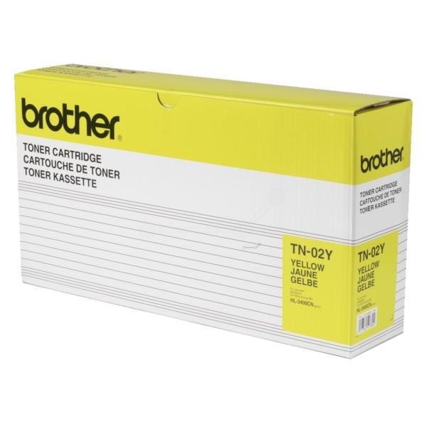 Original Brother TN02Y Toner gelb