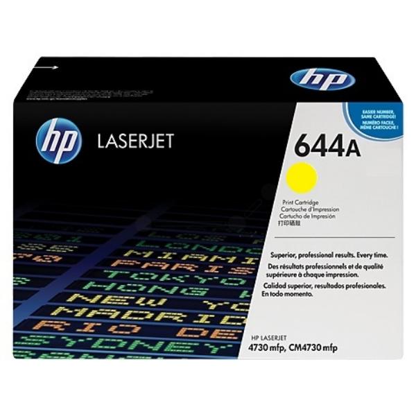 Original HP Q6462A / 644A Toner gelb