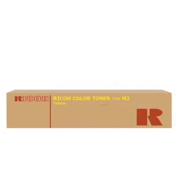 Original Ricoh 885322 / TYPEM2Y Toner gelb