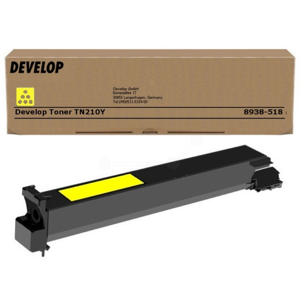 Original Develop 8938518000 / TN210Y Toner gelb