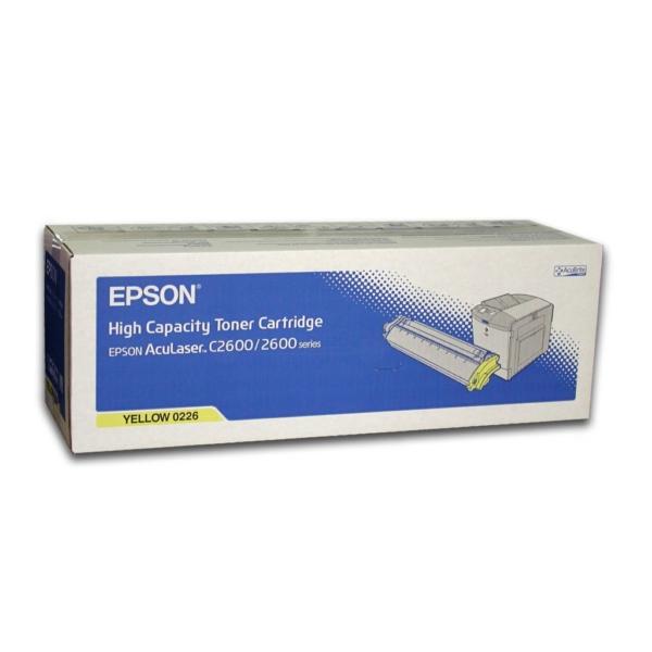 Original Epson C13S050226 / 0226 Toner gelb