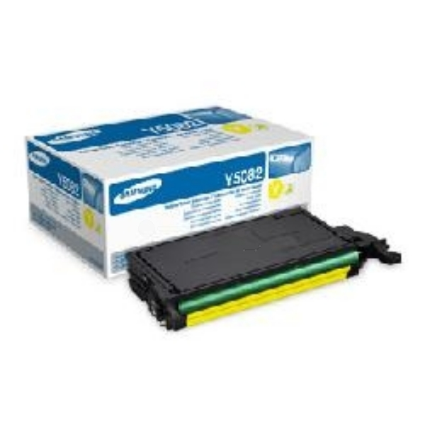 Oryginalny Samsung CLTY5082SELS / Y5082S Toner zólty