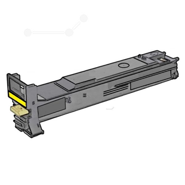 Original Konica Minolta A06V254 / TN313Y Toner gelb