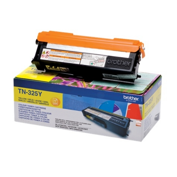Original Brother TN325Y Toner gelb
