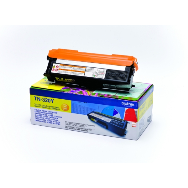 Original Brother TN320Y Toner gelb