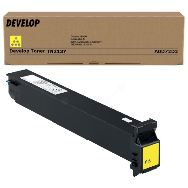 Original Develop A0D72D2 / TN213Y Toner gelb