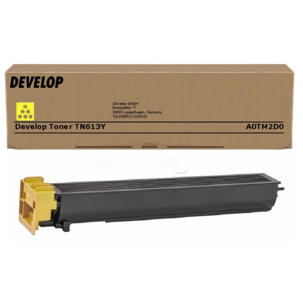 Original Develop A0TM2D0 / TN613Y Toner gelb