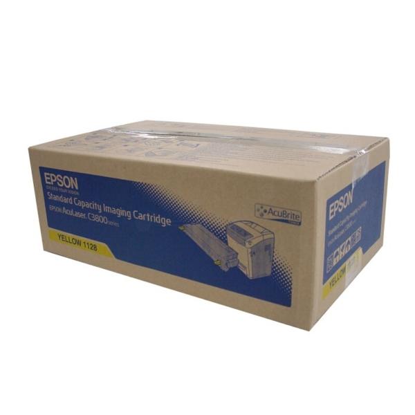 Original Epson C13S051128 / 1128 Toner gelb