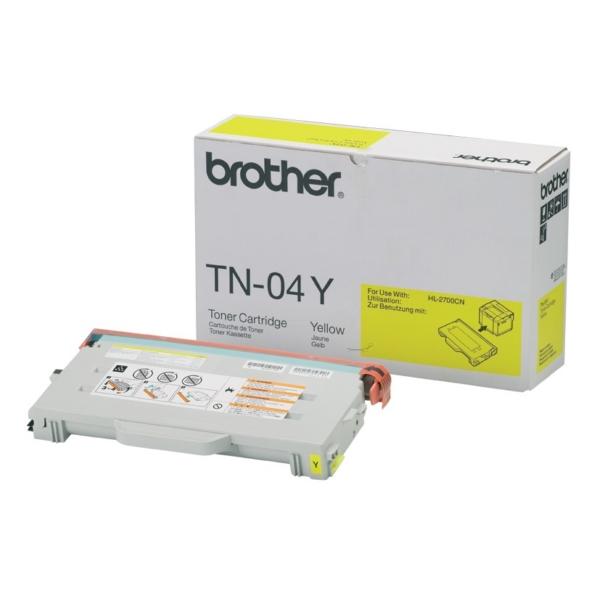 Original Brother TN04Y Toner gelb