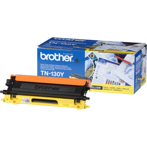 Original Brother TN130Y Toner gelb