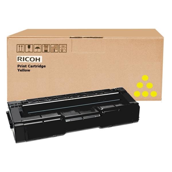 Original Ricoh 406482 / TYPESPC310HE Toner gelb