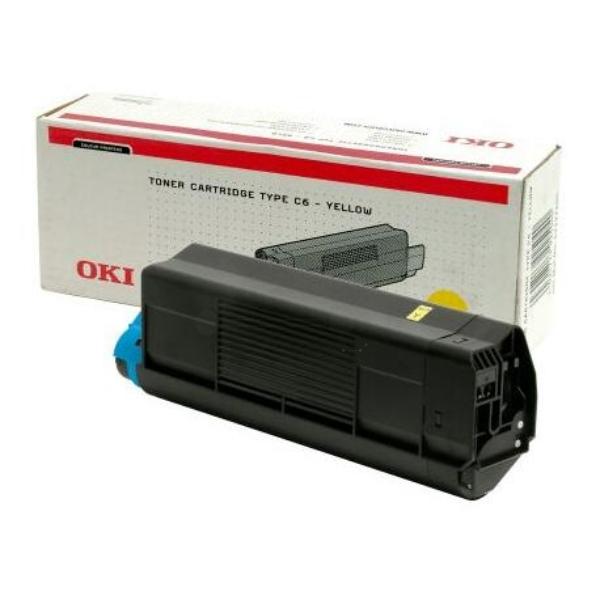 Original OKI 42127405 Toner gelb