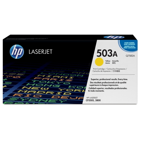 Original HP Q7582A / 503A Toner yellow