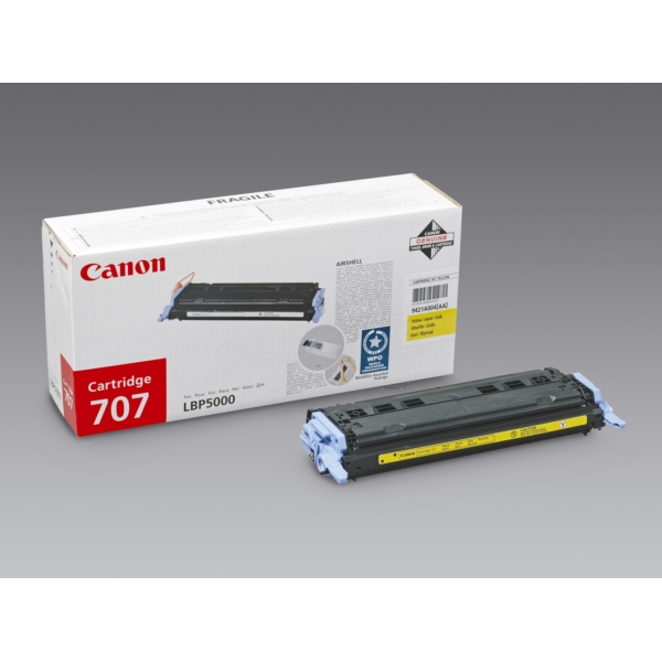 Original Canon 9421A004 / 707Y Toner yellow