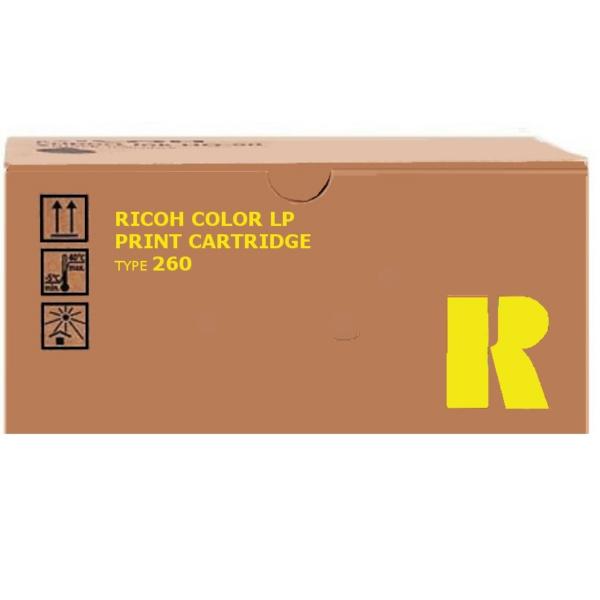 Original Ricoh 888447 / TYPE260 Toner gelb