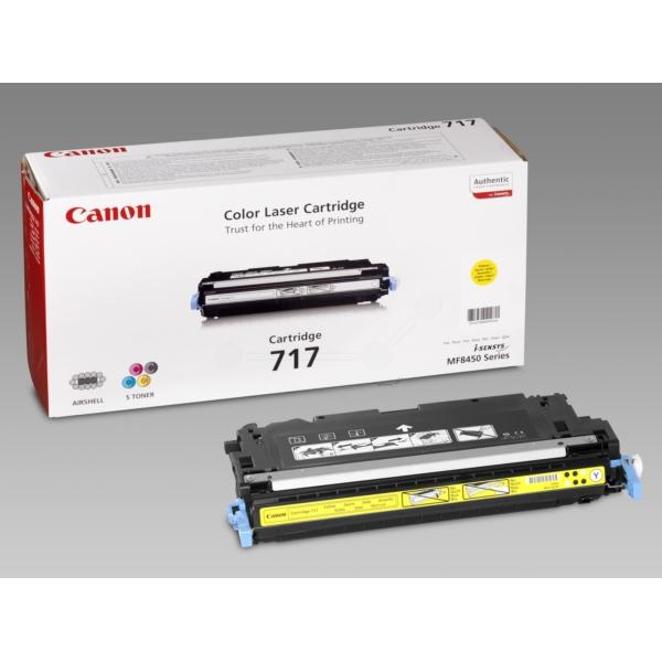 Original Canon 2575B002 / 717Y Toner gelb