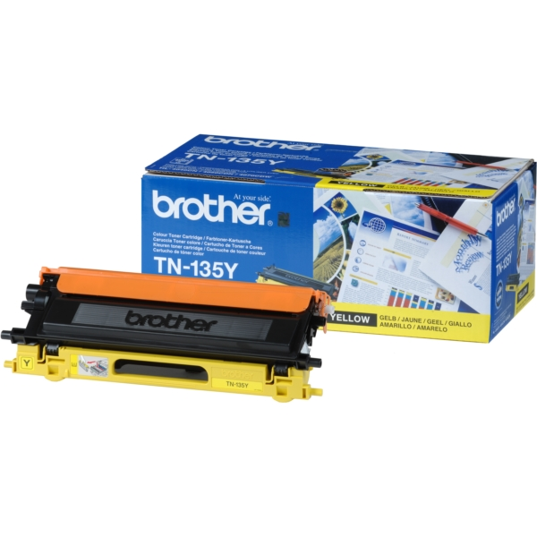 Original Brother TN135Y Toner gelb