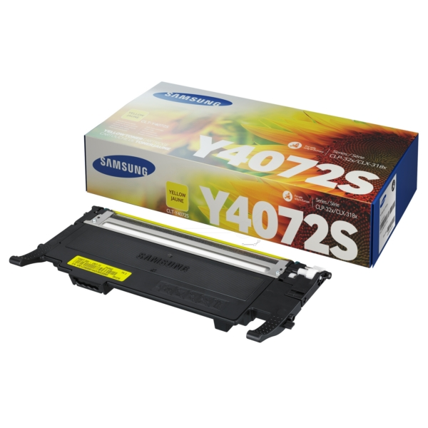 Oryginalny Samsung CLTY4072SELS / Y4072S Toner zólty